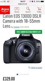 Canon 1300D. Mint condition
