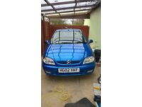 Citreon Saxo 1.1 2002 in excellent condition with FSH