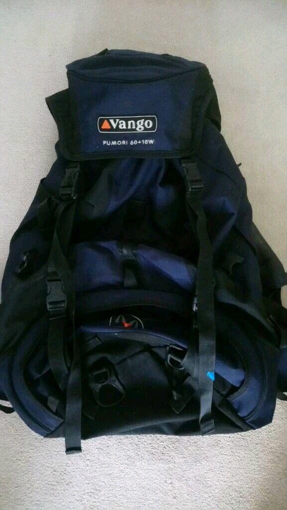 1e370b4aba5a Vango 60+10 rucksack