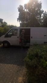 MAN AND VAN . 24/7 COLLECTING ITEMS . HOUSE REMOVAL ETC..