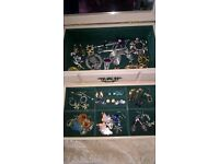 Costume Jewellery and Jewellery Box