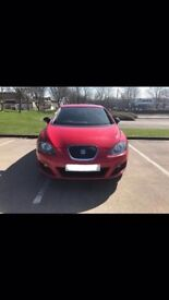 Seat Leon 1.6 diesel VERY GOOD ON FUEL *FREE TAX* - Red FSH LOW MILEAGE