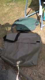 Two fishing bags