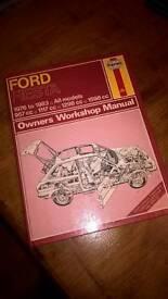 Ford fiesta haynes