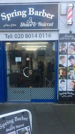 Barber shop for sale in great location in Hounslow- Heston High street***
