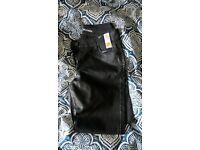 brand new size 10 leather look trousers