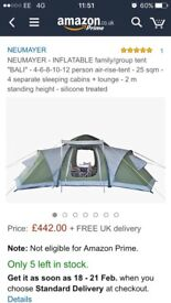 Large tent and accessories