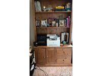 7 ft Home Office Filing Station/Bookcase.