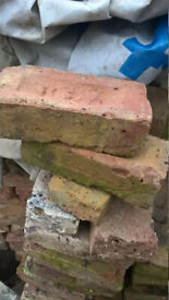 Reclaimed Beautiful Victorian Red Bricks
