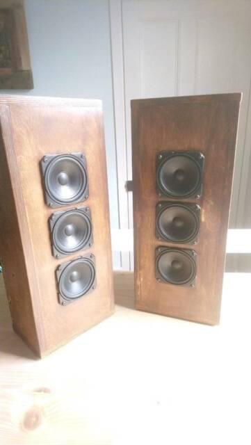 Isobaric Full Range Corner Cabinet Speakers  12 x Wharfedale drivers  | in  Kinghorn, Fife | Gumtree