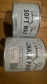 Annie Sloan Chalk Paint and Clear Wax
