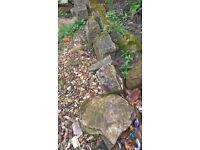 Rockery stones x 20