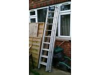 3 tier push up ladders
