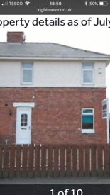 3 bed semi detached unfurnished home for rent in Ushaw Moor, Durham