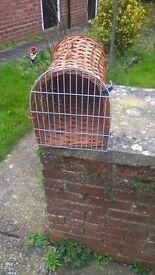 dog or cat carrier basket style