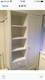 Mothercare white wardrobe