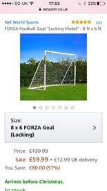 FORZA FOOTBALL GOAL - BRAND NEW IN BOX