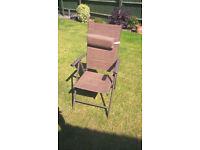 6 Rattan style garden chairs