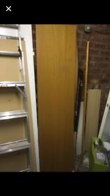 Malm Wardrobe Door without Handles or Fittings