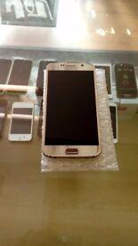 Samsung S6 in Gold unlocked 32gb
