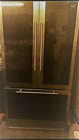 Maytag Black Glass and Stainless steel Trilogy