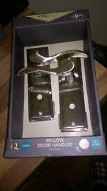 Brand new willow door handles