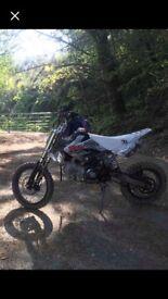 140cc stomp pit bike good condition
