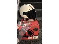 Bell Bullitt Carbon Motorcycle Helmet, 57-58cm Medium