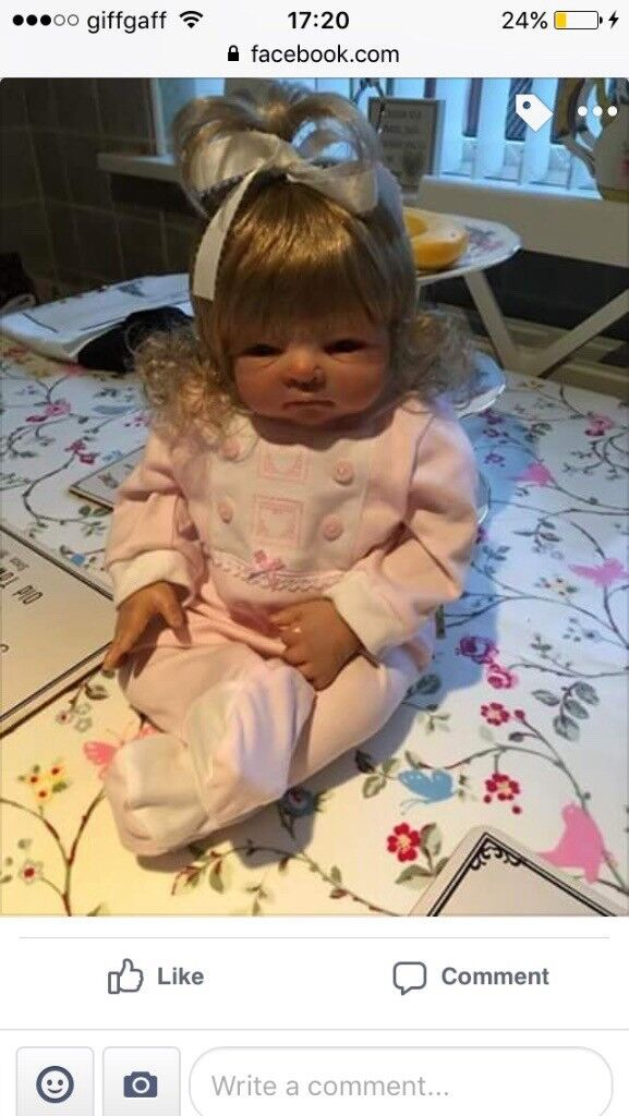 Gorgeous reborn doll was £1000 from America