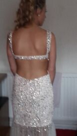 Stunning prom dress and shoes for sale