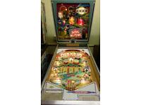 Wanted, Old pinball machine