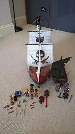 Playmobil Pirate Galleon and Ghost Ship