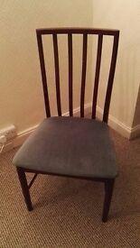 Mahogany style chairs ESA & McIntosh Ltd
