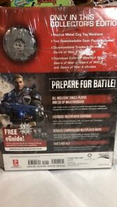 Gears Of War 4 Collector's Edition Guide With Replica Cog Tag