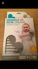 Love to Dream Swaddle up 50/50 medium grey NEW UNOPENED