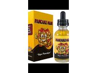 Pancake man 60ml hardly touched
