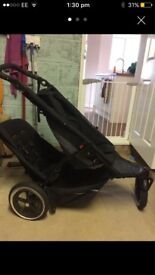 Double or single Phil and teds pushchair