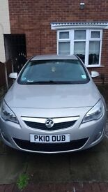 VAUXHALL ASTRA 1.6 EXCLUSIVE (low mileage)