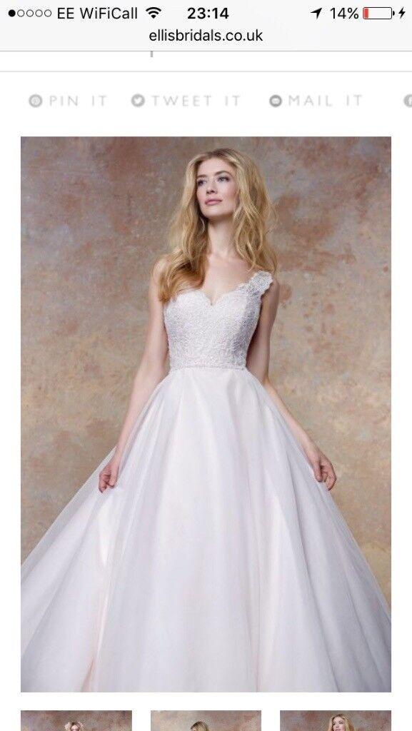 Ellis Bridals Ballgown Wedding Dress 11456 Size UK 16   in Dundee ...