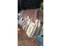 Reclaimed Yorkstone Paving Stones