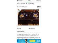 Pioneer xdj-r1 controller