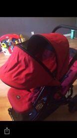Britax B-Dual Tandem pushchair