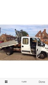 Iveco daily 3.5c12 LWB, tipper crew cab 2006 119K, strong work truck Also have fiat Ducato lwb 3900