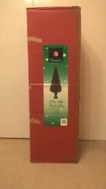 Christmas Tree - Dobbies Pre-Lit Noel Pine 1.8 m (6ft) high - EXCELLENT CONDITION
