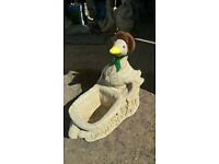 Old Mother Duck Planter