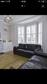 Italian leather sofa 3+2 seaters RRP £3650