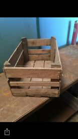 APPLE BOXES FOR SALE - GARDENS - WEDDINGS - HAMPERS - DECORATION
