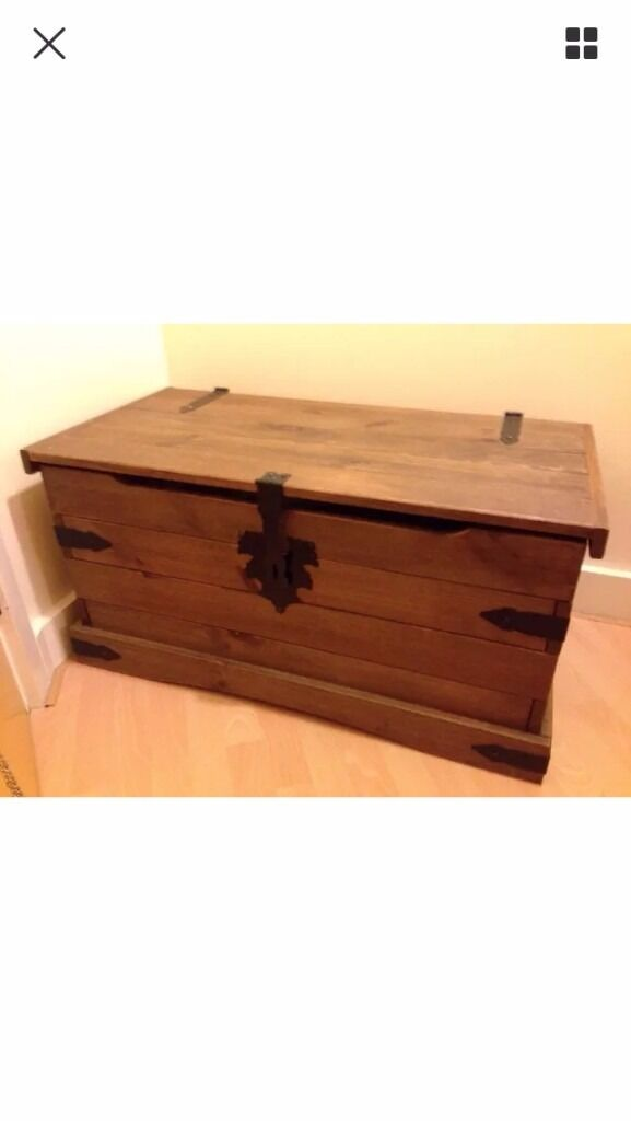 Beautiful wooden chest.