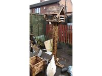 Garden Bird Table with stand