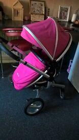 silver cross surf pushchair/stroller